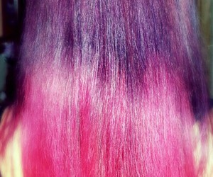 hairs, purple, and pink image