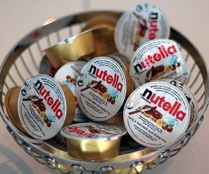adorable, girly, and nutella image