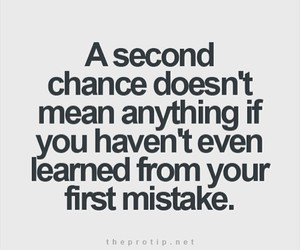 quote, chance, and mistakes image