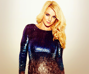 blonde, britney spears, and glamour image