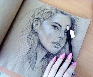 art, Desenhos, and drawing image