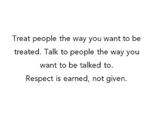 people, quote, and respect image