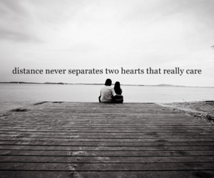 distance, love, and care image