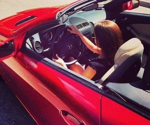 red car, luxury life, and luxury car image