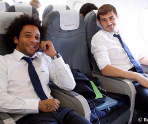 marcelo, real madrid, and iker casillas image