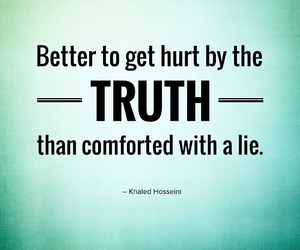 lies, quote, and hurt image