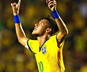neymar, brasil, and football image
