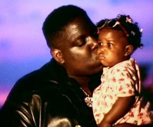 notorious b.i.g, biggie smalls, and daughter image