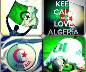 Algeria, dz, and flag image