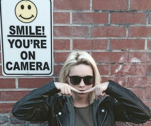 smile, bea miller, and grunge image