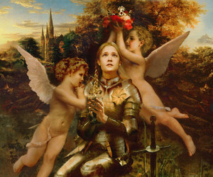 fantasy, fashion, and jeanne d'arc image