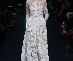 elie saab, lace, and look image