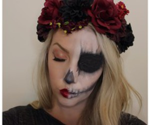 amazing, make up, and red image