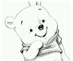 disney, drawing, and bear image