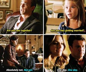 castle, funny, and married image