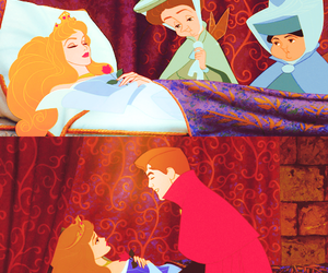 sleeping beauty and prince phillip image