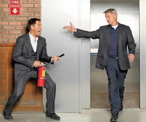 ncis, michael weatherly, and gibbs image