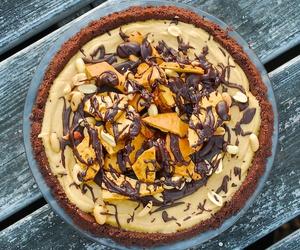 chocolate, food, and honeycomb image
