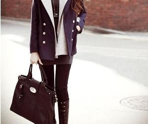 fashion, bag, and skinny image