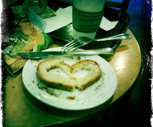 bread, cute, and love image