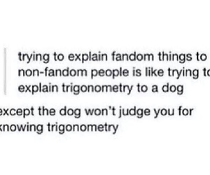 fangirls and trigonometry image