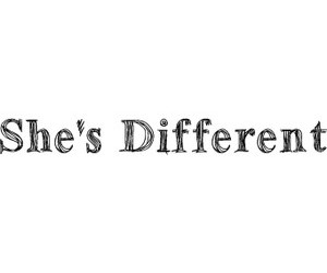 different, text, and girl image