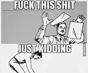 school, funny, and exam image