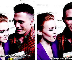 colton haynes and holland roden image