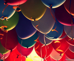 balloons, colors, and color image