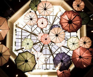 ceiling, indie, and umbrella image
