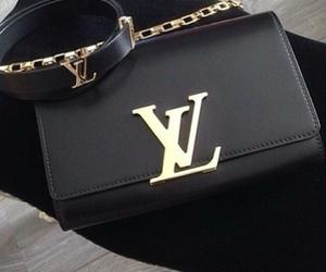 bag, black, and Louis Vuitton image