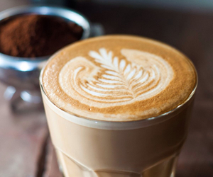 coffee, latte, and drink image