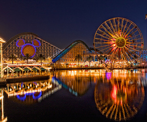disney world, Roller Coaster, and water image