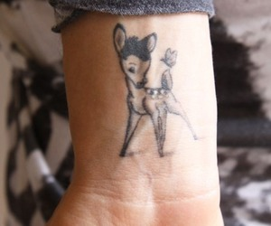 tattoo, bambi, and disney image