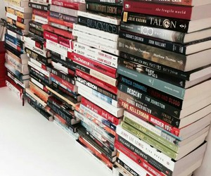 books, happiness, and life image