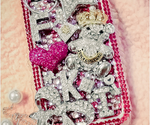 iphone, juicy couture, and pink image