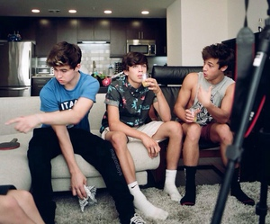 beautiful boys, youtubers, and brothers image