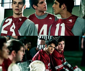 tyler posey, scott mccall, and dylan o'brien image