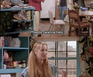 funny, friends, and pheebs image