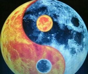 moon and sun image