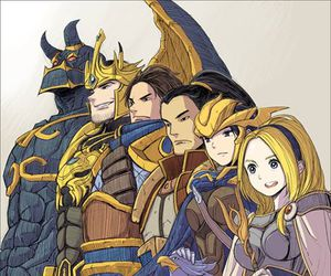lux, Quinn, and garen image