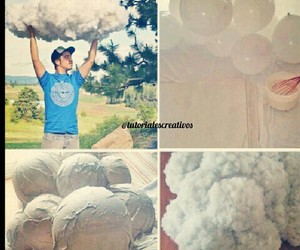 clouds, diy, and tutorial image