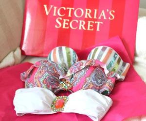 pink, Victoria's Secret, and summer image