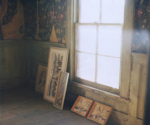 vintage, window, and old image