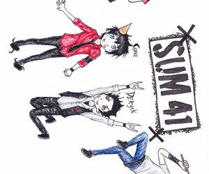 cartoon, punk, and rock image