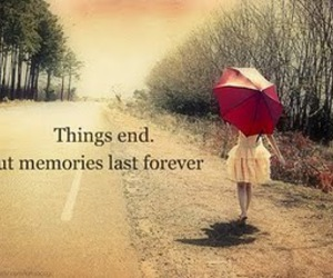 memories, quote, and forever image