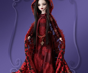 art, dolls, and goth image