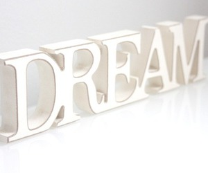 Dream, girl, and white image