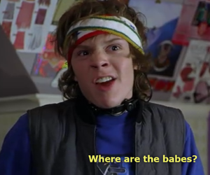 evan peters, sleepover, and funny image