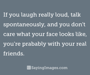 laugh, true, and real friends image